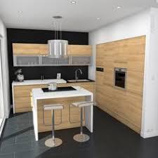 cuisine 9m2 avec ilot cuisine avec plan snack cuisine en image