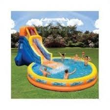 Best Backyard Water Slides Best 50 Bounce House Slides Foter