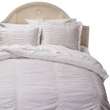 ruched comforter set simply shabby chic target