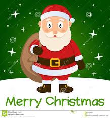 green card santa claus royalty free stock photos image