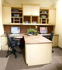 Home Office With Two Desks Dual Desk Home Office House Plans With Office Home Office With Two