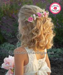 flowergirl hair flower beautiful headband hairstyle easy