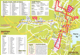 Hop On Hop Off Los Angeles Route Map maps update 31972079 tourist map of singapore city u2013 detail