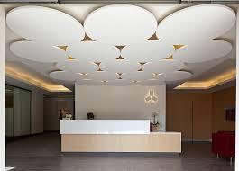 faux plafond acoustique d礬coratif en fibre min礬rale en 祟lot