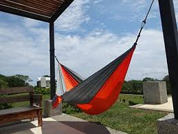 super sale camping hammock of parachute nylon by teo4life