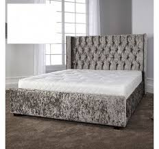 Velvet Bed Frame Gabriella Glitz Bed Frame