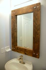 bathroom mirror ideas diy best 25 reclaimed wood mirror ideas on pallet mirror