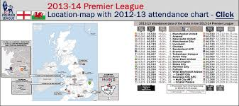 wales premier league table england wales premier league 2013 14 location map with