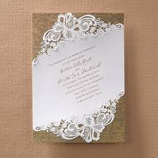 burlap and lace wedding invitations rustic battenburg lace invitation manualidades