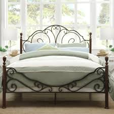 wrought iron bed frame queen ktactical decoration