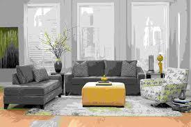 chambre jeune homme design décoration intérieur la combinaison gris et jaune le parfait