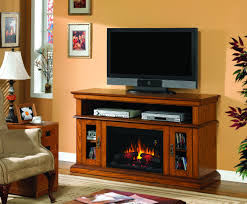 Entertainment Center With Electric Fireplace Admirable Brookfield Premium Oak Entertainment Center Electric