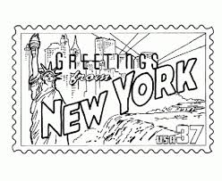 new york state seal coloring page inside coloring pages glum me