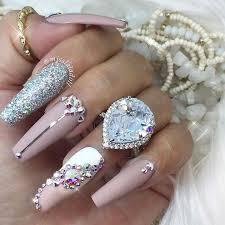 imagenes de uñas acrilicas con pedreria taller de uñas acrílicas decoración con pedrería at distrito de