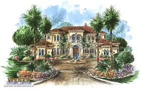 large estate house plans the tuscany house plan is a 5 bedroom tuscan estate home
