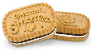 scouts selling limited quantity of new s mores cookies pre