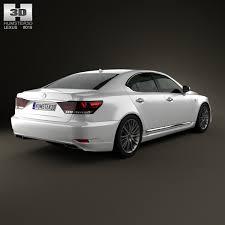 lexus ls f 3d model lexus ls f sport xf40 2012 cgtrader