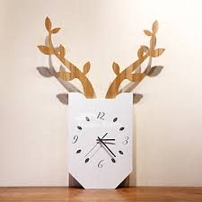 best wall clocks wall clocks antler hanging painting art deco battery operated