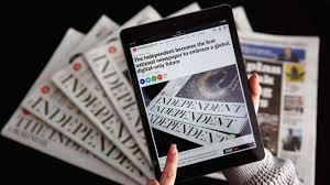 Independent by Whither Bridget Jones Britain U0027s U0027independent U0027 Newspaper Goes