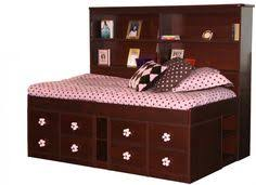 Twin Bed With Storage And Bookcase Headboard by Sonax 2 Piece Single Twin Captain U0027s Storage Bed Set With Bookcase