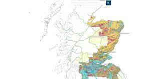 Map Scotland Maps Scotland U0027s Soils