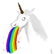 Throwing Up Rainbows Meme - unicorn puking rainbow gif lekton info