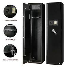 storage cabinet with electronic lock 5 rifle gun storage safe electronic lock cabinet lockbox case