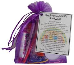 teaching assistant survival kit gift great present for christmas