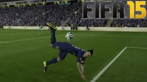 fifa 15 scorpion kick tutorial how to do it how to score
