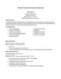 resume for internship hitecauto us