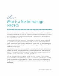 33 marriage contract templates standart islamic jewish
