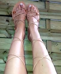 women u0027s leather sandals lace up gladiator sandals greek