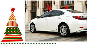 car antlers faddish christmas antlers and nose for car decoration