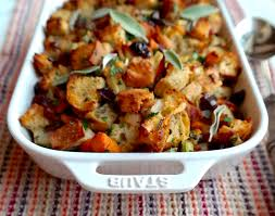 Great Thanksgiving Side Dishes Simple Herb Stuffing With Pancetta And Persimmons Sequins At