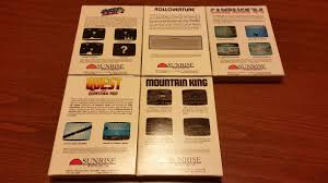 bojay inc some colecovision games for sale new sealed marketplace