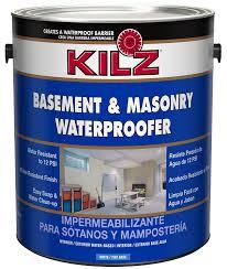kilz interior exterior basement and masonry waterproofing paint