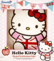 hello kitty birthday cake sainsbury u0027s best images collections hd