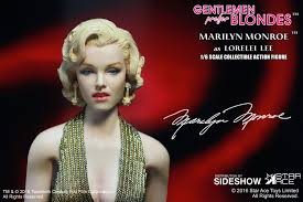 gentlemen prefer blondes marilyn monroe as lorelei lee gold