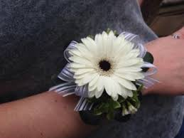 wrist corsage prices gerbera wrist corsage in johnsbury vt all about flowers