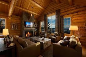teton village log home ron davison