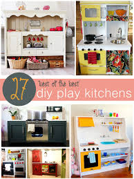 Best Kids Play Kitchen by 27 Diy Play Kitchens Tipsaholic