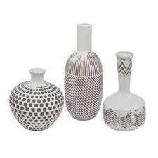 3 Vases Set Three Hands Vases Vases U0026 Decorative Bottles The Home Depot