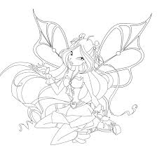 100 winx club bloomix coloring pages winx club daphne sirenix