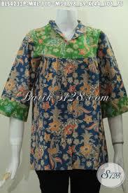 desain baju batik halus jual online pakaian batik modern berbahan halus desain istimewa