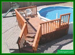 above ground pool deck kits roselawnlutheran