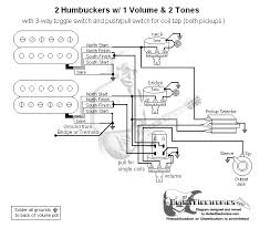 guitar wiring diagram 2 humbuckers 3 way toggle switch 1 volume 2