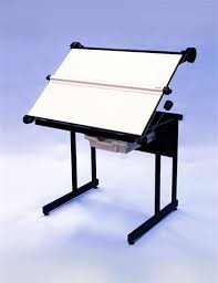 Fold Up Drafting Table Office Furniture Drawing Office