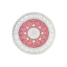 Red Round Rugs by 12 Ft U0026 Larger