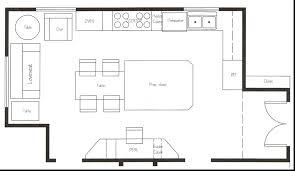 u shaped kitchen floor plan kitchen fantastisch floor plans for kitchens u shaped kitchen