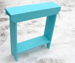 ideas wooden console narrow sofa table laluz nyc home design